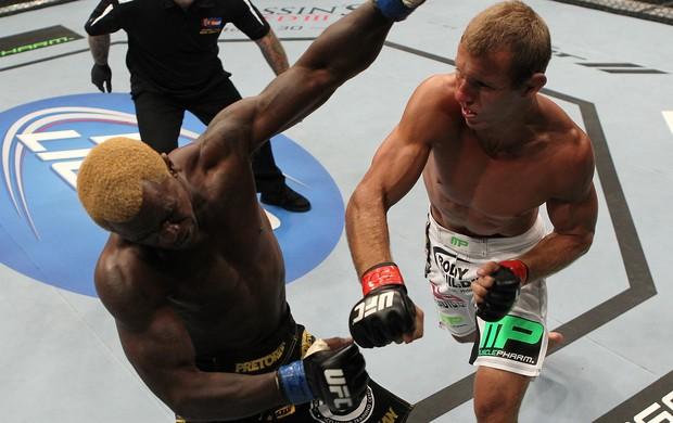 Donald Cerrone e Melvin Guillard UFC 150 (Foto: Getty Images)