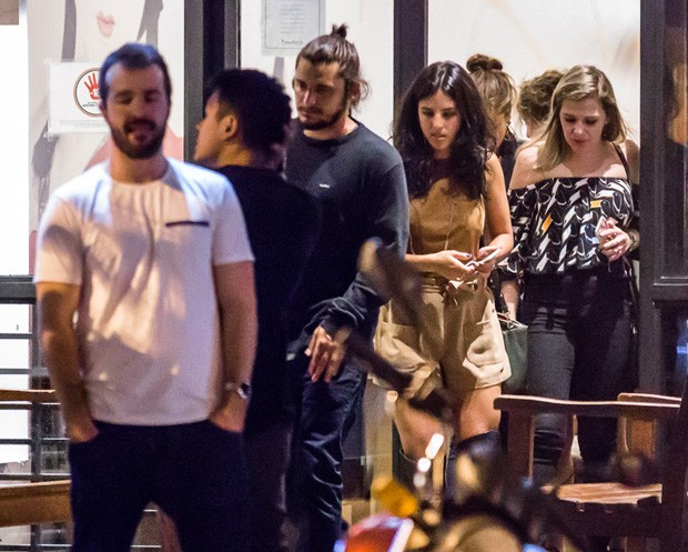 Bruno Gissoni e Yanna Lavigne (Foto: Ghost/Brazil News)