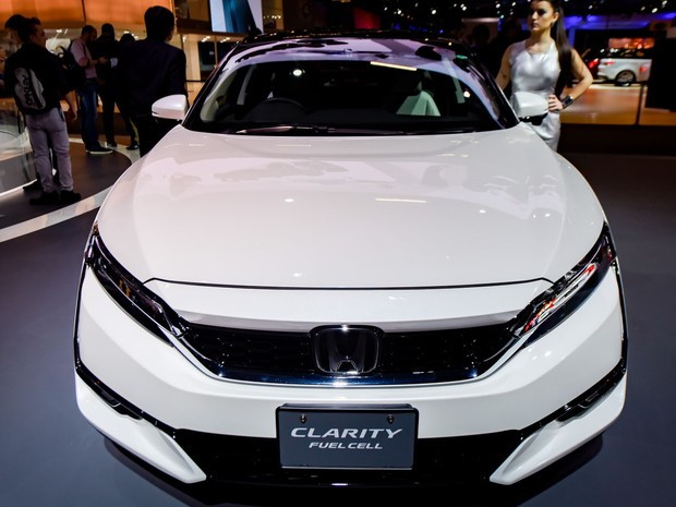 Honda Clarity é apresentado no Salão do Automóvel de São Paulo 2016 (Foto: Flavio Moraes/G1)