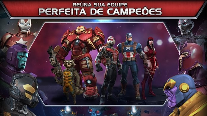 Homem-Formiga entra para o time de Marvel: Contest of Champions (Foto: Divulgação)