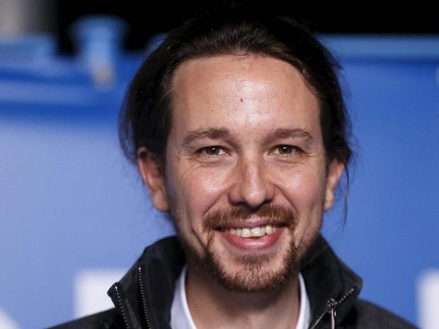 Pablo Iglesias, professor de Ciências Políticas e candidato do partido Podemos (Foto: REUTERS/Juan Medina)