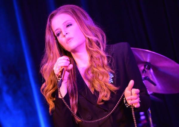 A cantora Lisa Marie Presley, filha de Elvis Presley (Foto: Getty Images)