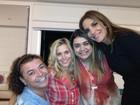 Preta Gil recebe Ivete Sangalo e outros amigos famosos em sua casa