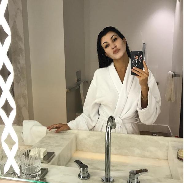 A celebridade Kourtney Kardashian (Foto: Instagram)