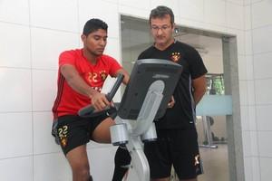 Luis Ruiz Sport (Foto: Williams Aguiar/Sport)