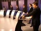 Candidatos de Pelotas confrontam propostas em debate na RBS TV