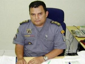 Aldimar Zanoni Porto, comandante da PM-MA (Foto: Reprodução/TV Mirante)
