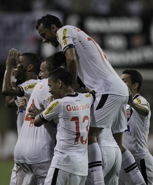 Tigres x Vasco comemoração (Foto: Agência Estado)