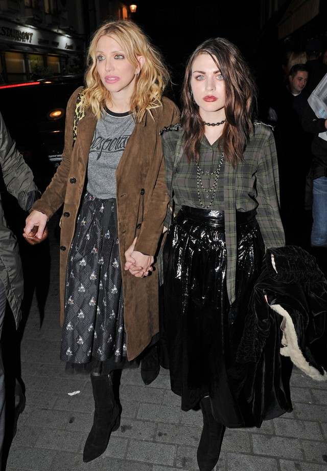 Courtney Love e Frances Bean Cobain (Foto: AKM-GSI)