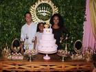 Negra Li promove festão com 200 convidados para filha de 7 anos