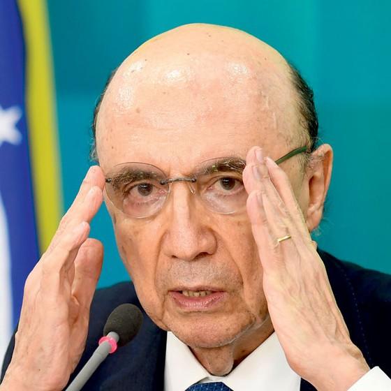 Henrique Meirelles ministro da Fazenda   (Foto:  EVARISTO SA/AFP)