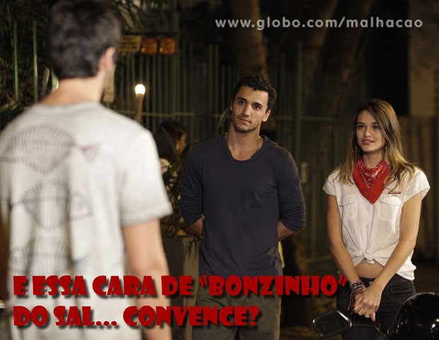 Esse Sal não é fácil... (Foto: Malhação / TV Globo)