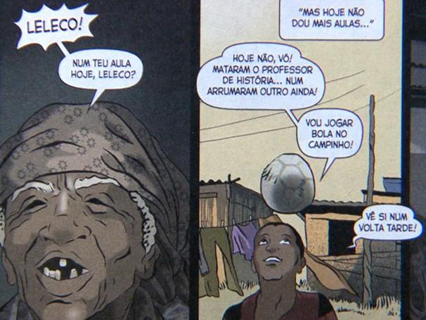 Capa Comics é o quadrinho da Baixada Fluminens (Foto: Reprodução)