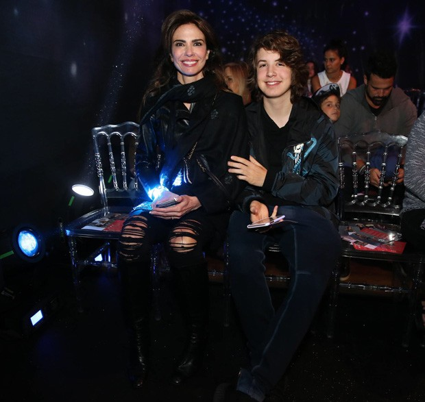 Luciana Gimenez e Lucas Jagger (Foto: Manuela Scarpa/Brazil News)