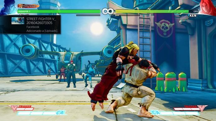 Agarrão é ótima opção para afastar oponentes no Street Fighter 5 (Foto: Reprodução/Felipe Vinha)