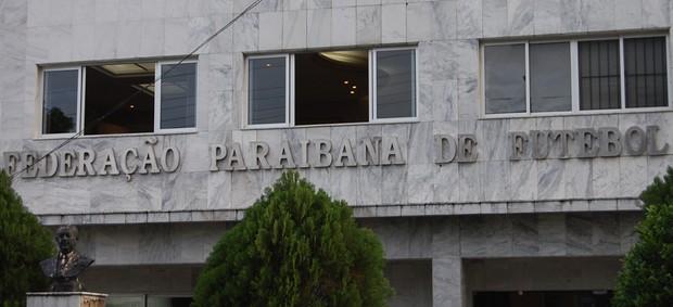 Federação Paraibana de Futebol (Foto: Cadu Vieira)