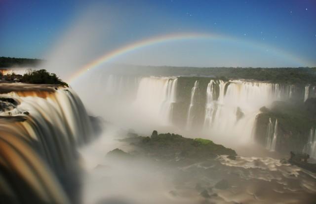 Arco íris  (Foto: Reprodução)