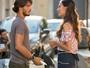 Roger tenta causar intriga, mas Luciana fica feliz com novidade