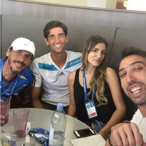 Thomaz Bellucci, Gabriela Cabrini, João Zwetsch e André Cunha (Foto: Reprodução / Instagram)
