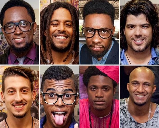 Todos os vocalistas da equipe Thiaguinho (Foto: SuperStar / Gshow)