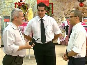 Loja de Araraquara investe na contratação de mais quatro vigilantes (Foto: Reprodução/EPTV)
