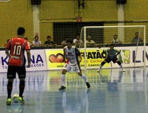 Cascavel x Joinville, Liga Futsal 2016, futsal (Foto: Reprodução/Twitter Liga Futsal)