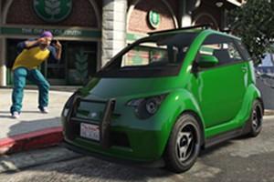 Microcarro Panto, do jogo GTA V Online (Foto: Divulgação)