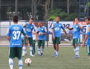 Wellington treino Palmeiras (Foto: Gustavo Serbonchini)