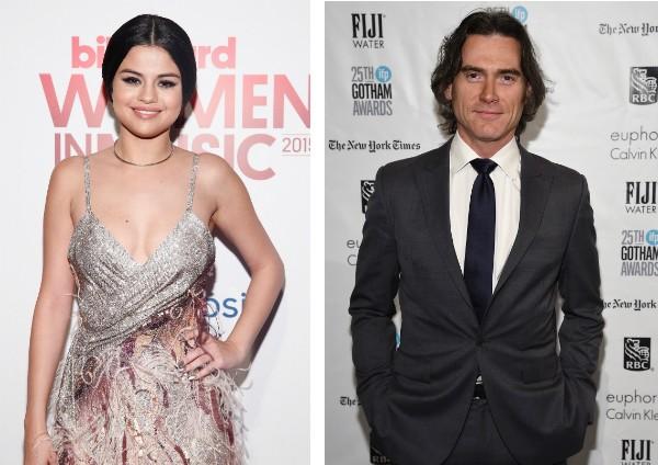 A cantora Selena Gomez e o ator Billy Crudup (Foto: Getty Images)