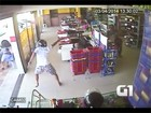 Preso no RN admite assalto na Paraíba onde policial foi baleado; veja vídeo