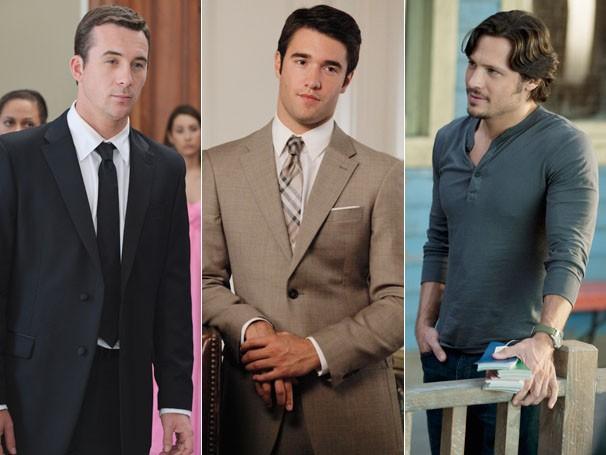 Aiden, Daniel e Jack. Com quem Emily ficará no final? (Foto: Divulgação / Disney Media Distribution)