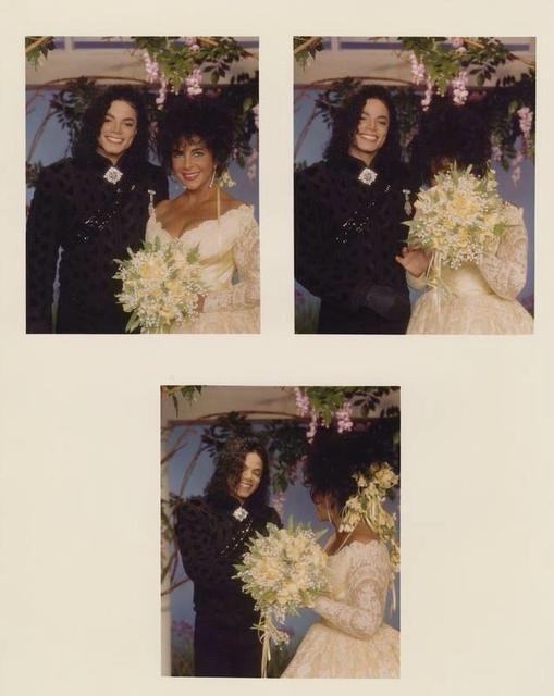 Veja fotos inéditas de Michael Jackson no casamento de Liz Taylor 4sew_1