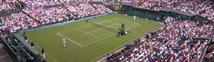 Wimbledon; frame (Foto: Reprodução SporTV)