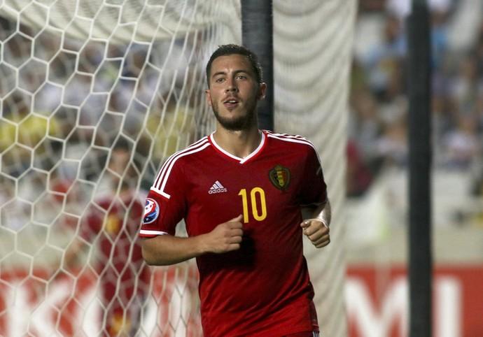 Hazard Bélgica (Foto: Reuters)