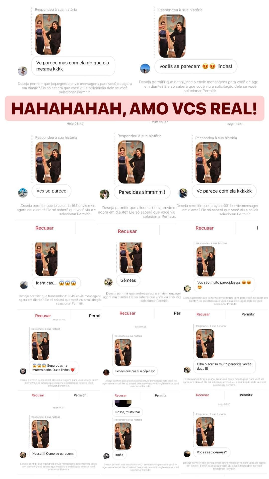 Post dos fãs de Vivian (Foto: Reprodução/Instagram)
