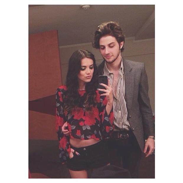 Chay Suede e Manu Gavassi (Foto: Instagram / Reprodução)
