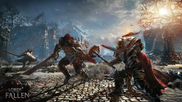 Com gráfico next gen e jogabilidade de Dark Souls, Lords of the Fallen é um novato com muito potencial (Foto: Divulgação/Namco Bandai) (Foto: Com gráfico next gen e jogabilidade de Dark Souls, Lords of the Fallen é um novato com muito potencial (Foto: Divulgação/Namco Bandai))