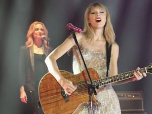Taylor Swift se apresenta no Rio em show fechado em 13 de setembro de 2012 (Foto: Nestor Javier Beremblum/LatinContent/Getty Images)
