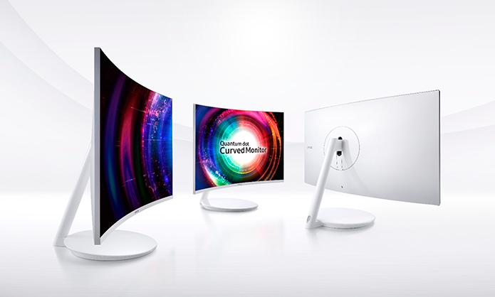 Monitores serão oferecidos em versões de 27 e 31,5 polegadas (Foto: Divulgação/Samsung)