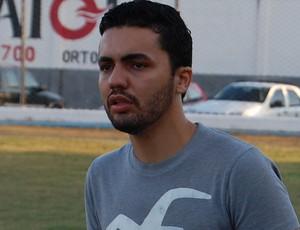 Arthur Ferreira, técnico do Sport Campina (Foto: Silas Batista / GloboEsporte.com)