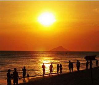 Pôr do sol em Maresias está no concurso do Fantástico (Foto: reprodução/ Rede Globo)