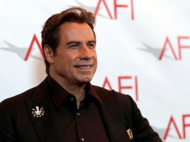 John Travolta em premiação em Los Angeles, nos Estados Unidos (Foto: Mario Anzuoni/ Reuters)
