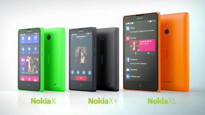 Nokia X é a nova linha de smartphones Android da Nokia (Foto: Divulgação/Nokia)