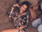 Luiza Brunet posta foto sexy da filha e elogia: 'Beleza natural'