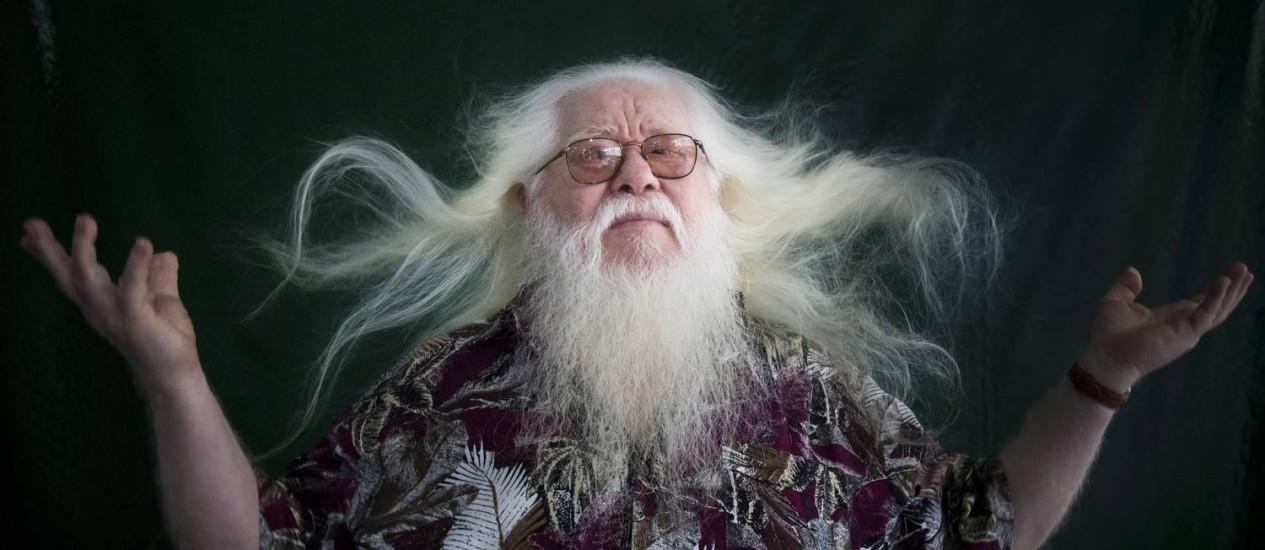 'O msico mais impressionante de todo o mundo', disse Miles Davis sobre Hermeto (Foto: Divulgao)