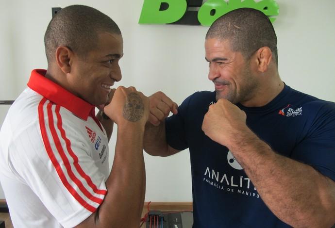 Anderson Pico e Toquinho (Foto: Ivan Raupp)