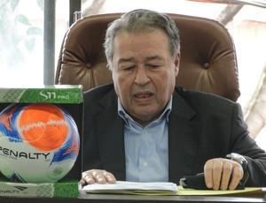 Paulo Schettino, presidente da Federação Mineira de Futebol (Foto: Rafael Araújo / GloboEsporte.com)