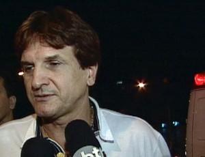 Baidek se envolve em acidente em Porto Alegre (Foto: Reprodução/RBS TV)