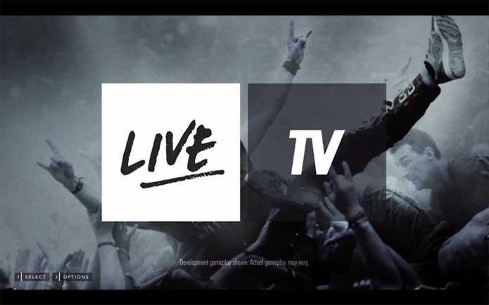 Menu inicial de Guitar Hero Live (Foto: Divulgação/Activision)