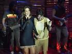 Ivete Sangalo grava participação no DVD de Saulo